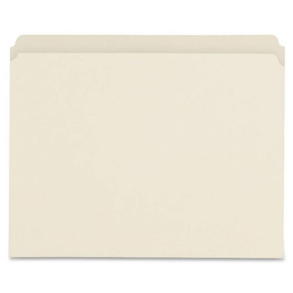 Sparco Straight Cut Recycled Manila File Folders