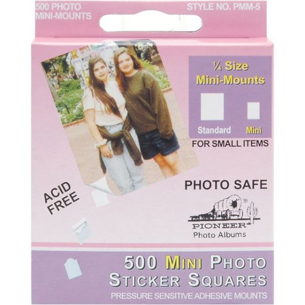 Pioneer Mini Photo Sticker Squares