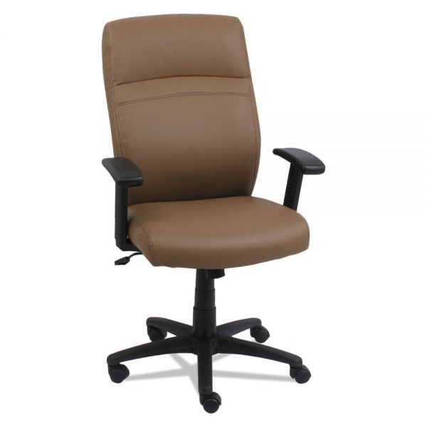 Alera High-Back Swivel/Tilt Chair, Taupe/Black