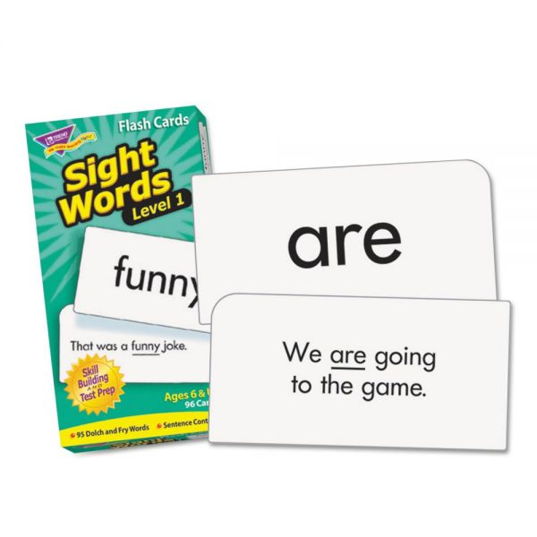 Sight Words Skill Drill Flash Cards - Level 1