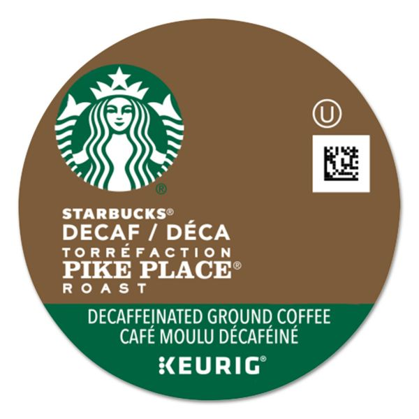 Starbucks Pike Place Decaf Coffee K-Cups