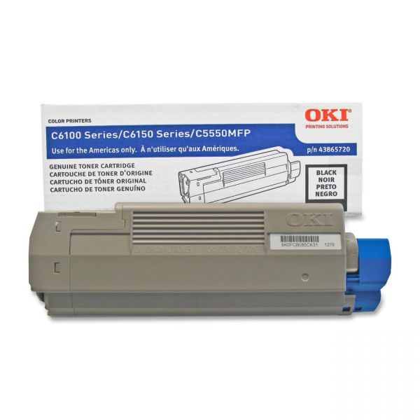 Oki 43865720 Black Toner Cartridge