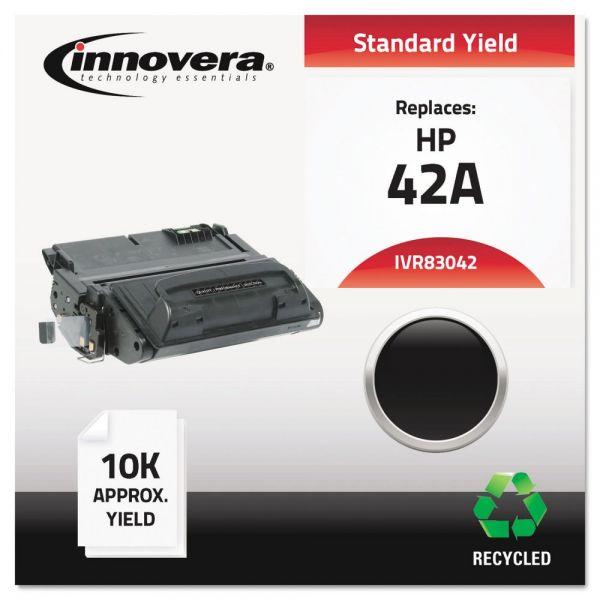 Innovera Remanufactured Q5942A (42A) Toner, Black