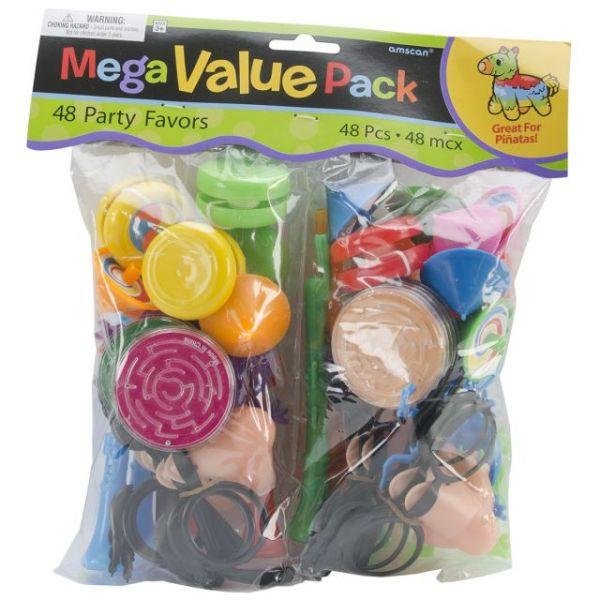 Pinata Favor Pack 48/Pkg
