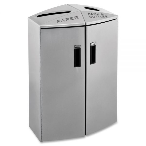 Rubbermaid Commercial Element Paper/Trash Can Station