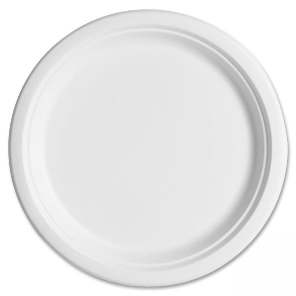 """Eco-Products Compostable 10"""" Bagasse Plates"""