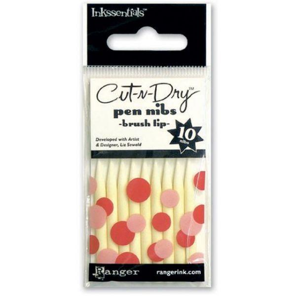 Inkssentials Cut-N-Dry Nibs 10/Pkg