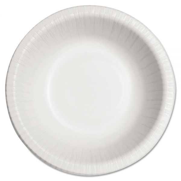 Dart Bare Eco-Forward Clay-Coated Paper Dinnerware, Bowl, 12oz, 125/Bag, 8/CT