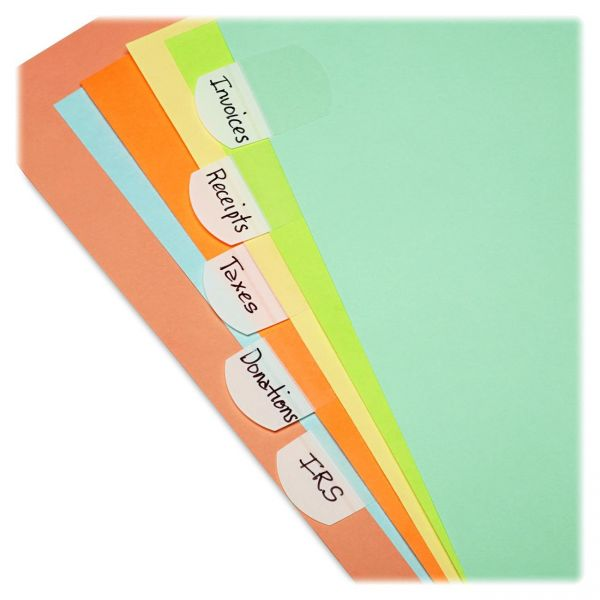 LEE Removable Hefty Index Tabs