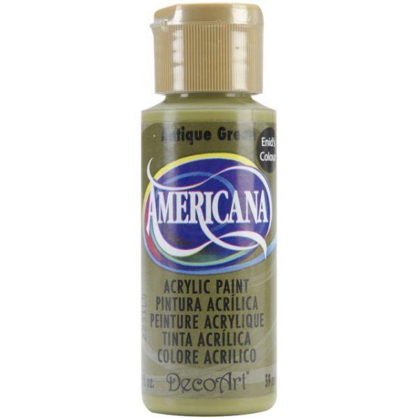 Deco Art Americana Antique Green Acrylic Paint