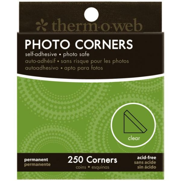 Photo Corners Boxed 250/Pkg