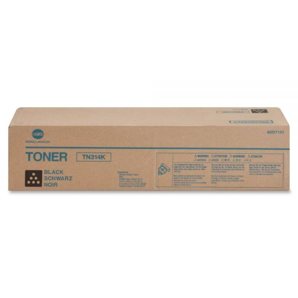 Konica Minolta TN314K Black Toner Cartridge