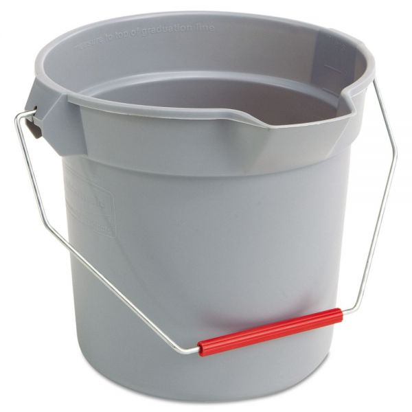 Rubbermaid Commercial Brute Round Bucket