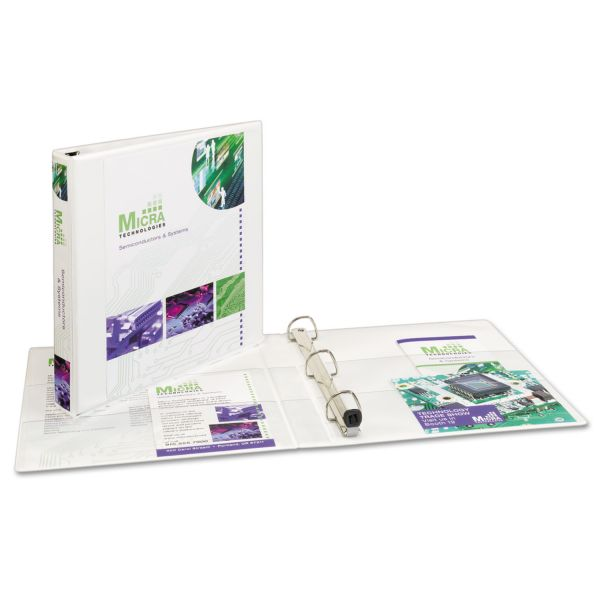 """Avery Extra Wide Reference 1"""" 3-Ring View Binder"""