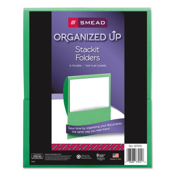 Smead Organized Up Stackit Folders