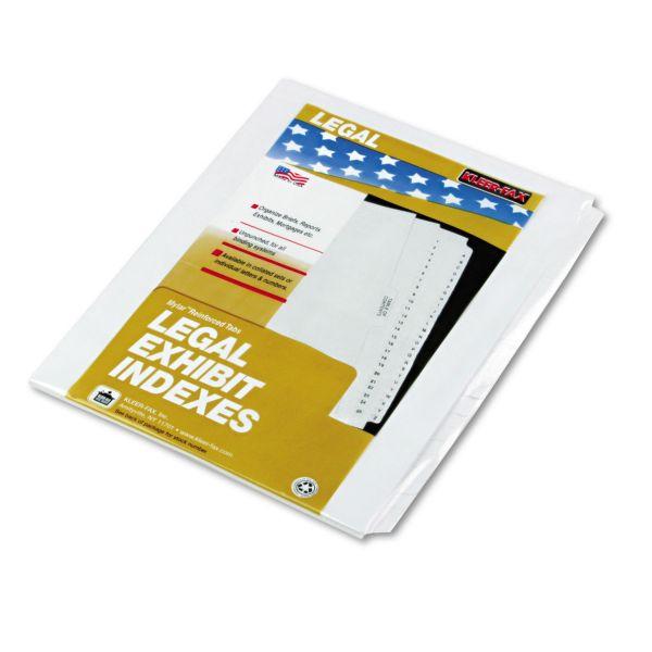 Kleer-Fax 80000 Series Side Tab Index Divider