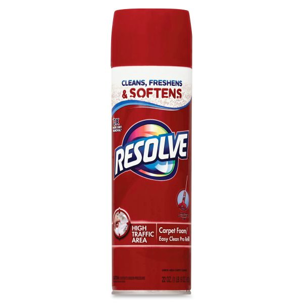 Resolve High Traffic Foam Carpet Cleaner