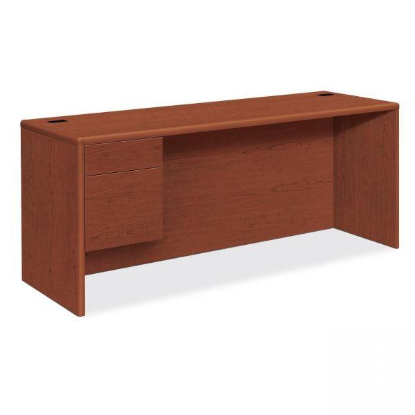 "HON 10700 Series Left Pedestal Credenza | 1 Box / 1 File Drawer | 72""W"