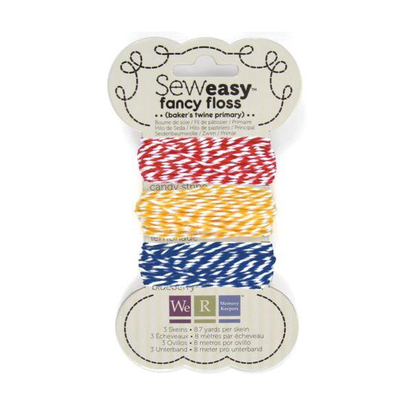 Sew Easy Baker's Twine 8.7yd 3/Pkg