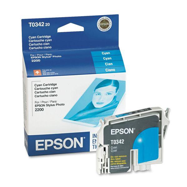 Epson T034220 Cyan Ink Cartridge