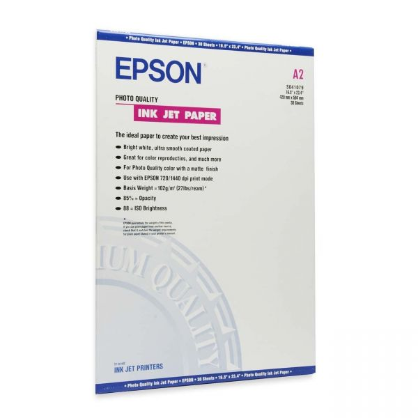 Epson Coated Matte Photo Paper