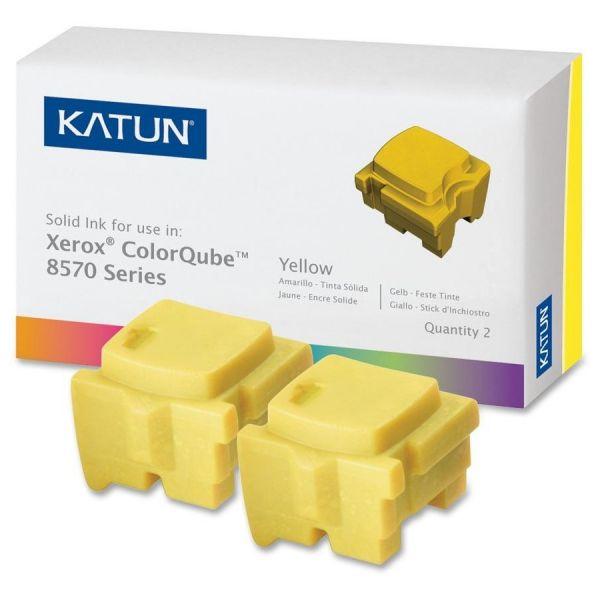 Katun Remanufactured Xerox 108R00928 Yellow Solid Ink Sticks