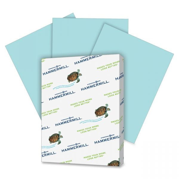 Hammermill Super-Premium Colored Paper - Turquoise