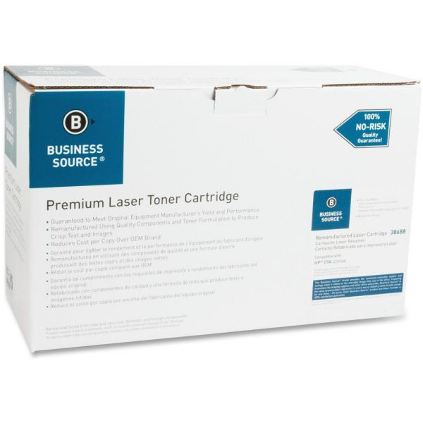 Business Source Remanufactured HP 09A (C3909A) Toner Cartridge