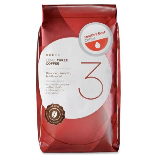 Seattle's Best Level 3 Whole Bean Coffee (3/4 lbs)