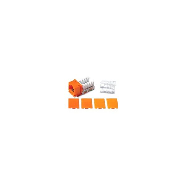 C2G Cat6 RJ45 UTP Keystone Jack - Orange