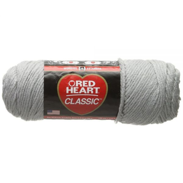 Red Heart Classic Yarn - Silver
