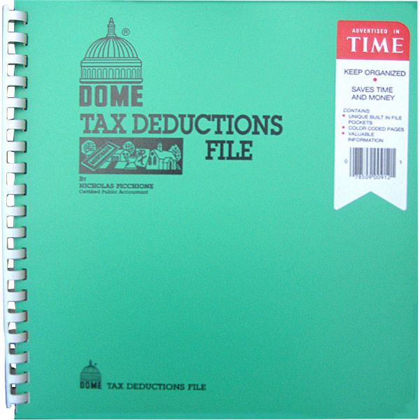 Dome Tax Deduction File Book