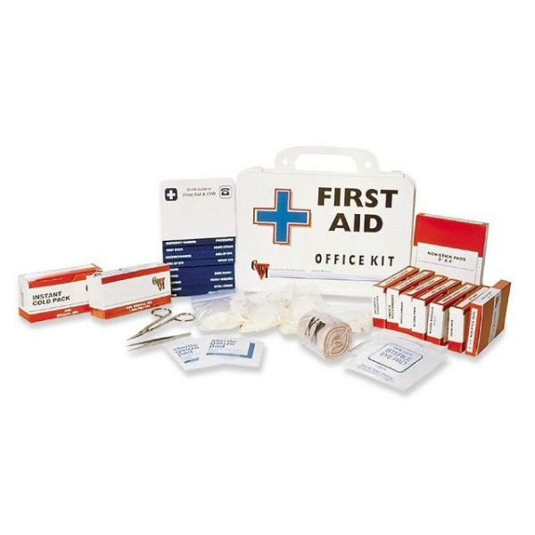 SKILCRAFT Wall Mountable First Aid Kit