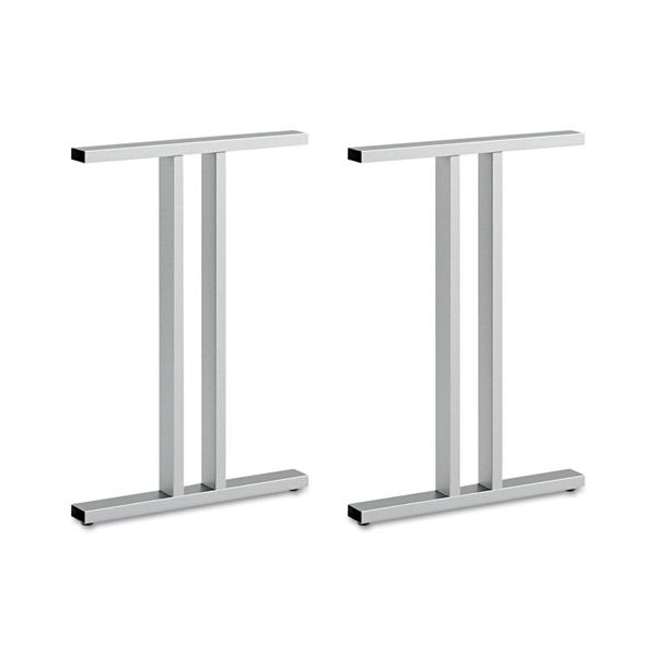 Bush Furniture Leg Kit-Freestanding Dog Leg Desk Momentum: Silver