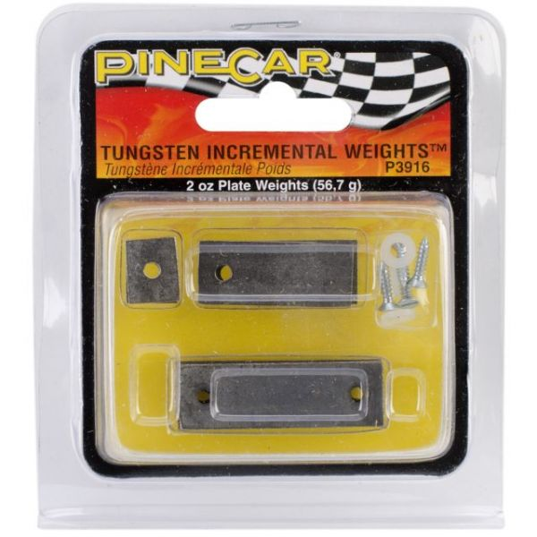 Pine Car Derby Weights 2oz