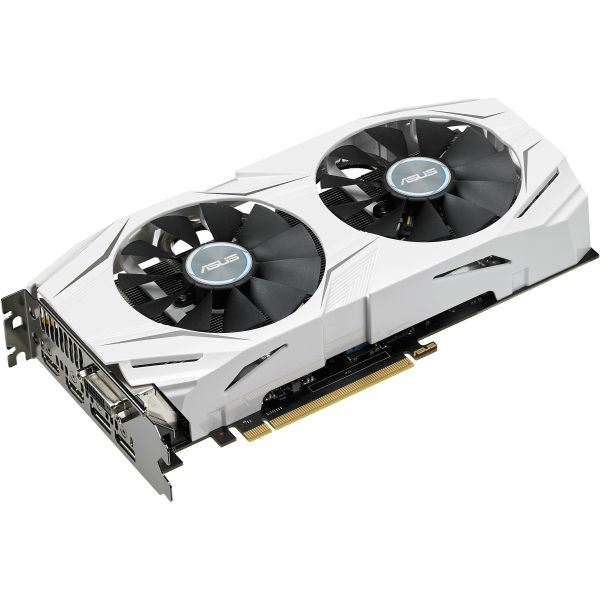 Asus DUAL-GTX1070-O8G GeForce GTX 1070 Graphic Card - 1.58 GHz Core - 1.77 GHz Boost Clock - 8 GB GDDR5 - PCI Express 3.0