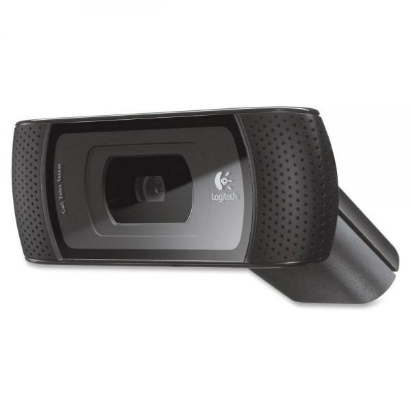 Logitech B910 Webcam - 5 Megapixel - 30 fps - Black - USB 2.0 - 1 Pack(s)