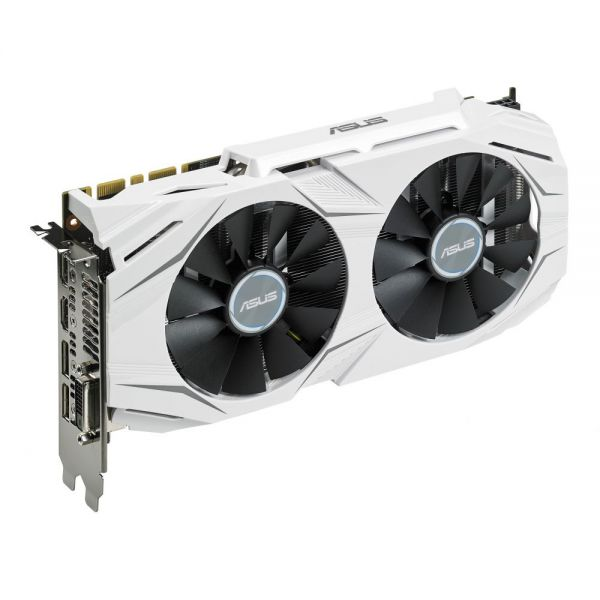 Asus DUAL-GTX1070-8G GeForce GTX 1070 Graphic Card - 1.53 GHz Core - 1.72 GHz Boost Clock - 8 GB GDDR5 - PCI Express 3.0 - Dual Slot Space Required