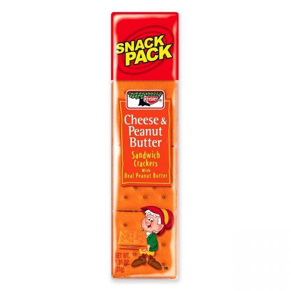 Keebler Cheese & Peanut Butter Sandwich Crackers