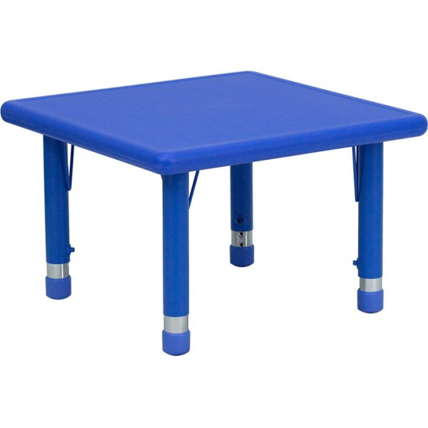 Flash Furniture Square Height Adjustable Activity Table