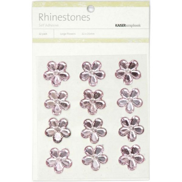Self-Adhesive Flower Rhinestones