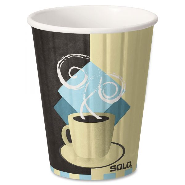 SOLO Insulated 12 oz Paper Coffee Cups