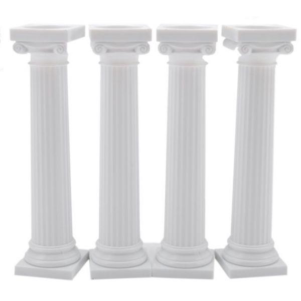 Grecian Pillars 4/Pkg