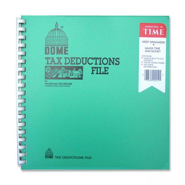 Dome Tax Deduction File Book
