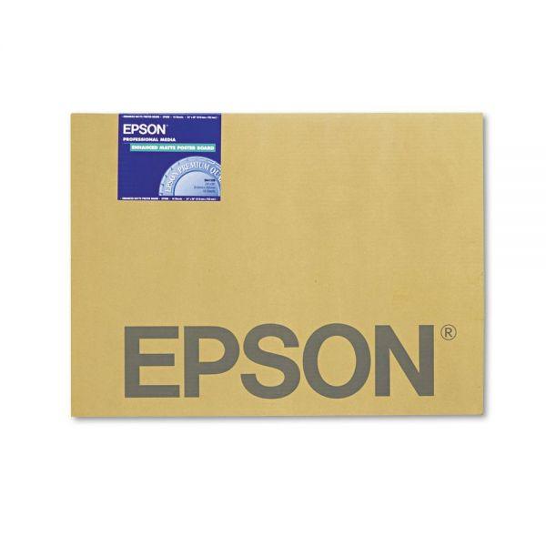 Epson Enhanced Matte Poster Board