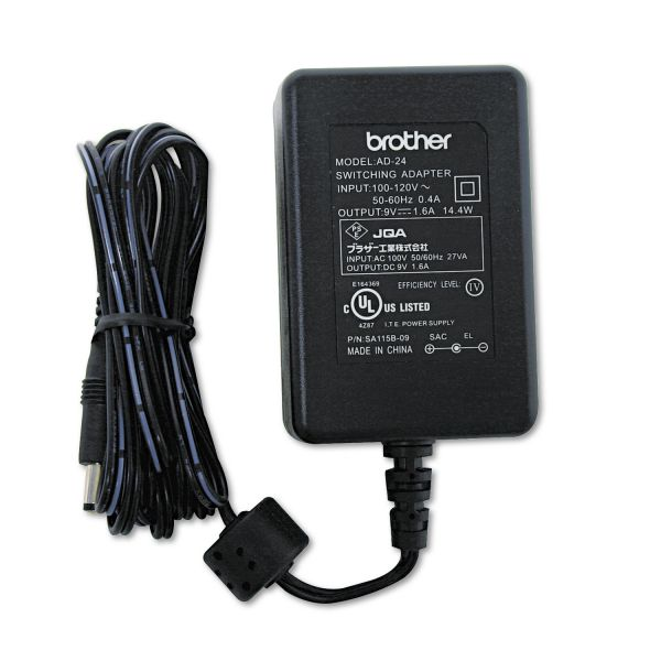 Brother P-Touch AC Adapter for Brother P-Touch Label Makers