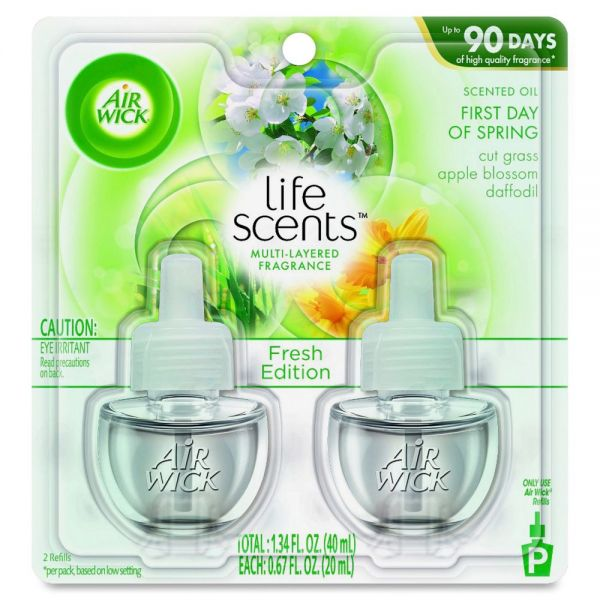 Airwick Spring Fresh Scented Oil Refills