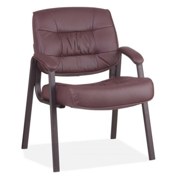 Office Star Leather Visitors Chair