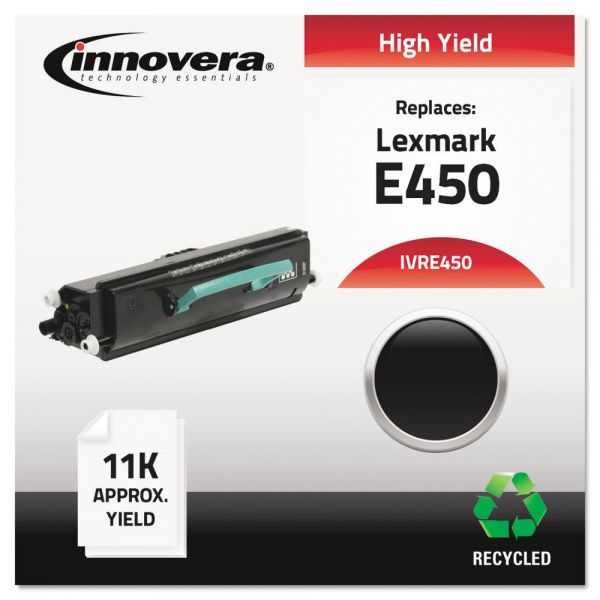 Innovera Remanufactured Lexmark E450 High Yield Toner Cartridge