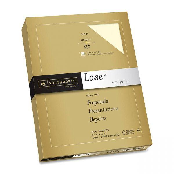 Southworth 25% Cotton Premium Laser Paper